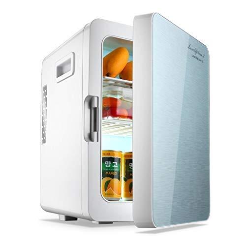 FQY-BX Mini Nevera Congelador portátil Refrigerador de automóviles 12V DC Refrigerador de automóviles, frío y Caliente, refrigerador eléctrico portátil 20L (Color : A)