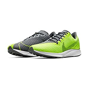 [ナイキ] Zoom Rival Fly 2 ズーム ライバル フライ 2 CJ0710-700 メンズ ランニング シューズ VOLT/SMOKE GREY-GREY FOG-WHITE SU20 (VOLT/SMOKE GREY-GREY FOG-WHITE, measurement_27_point_0_centimeters)