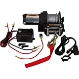 Ironton 12 Volt DC Powered Electric ATV Winch - 2,500-Lb. Capacity, Steel Wire Rope