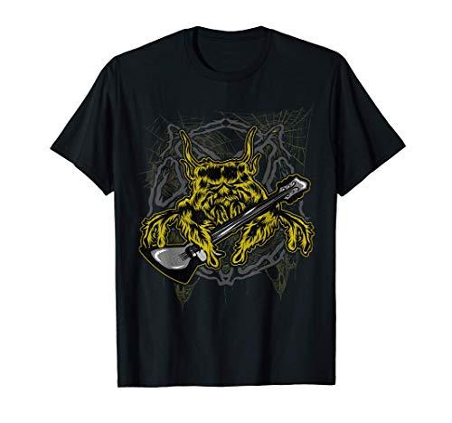 Guitarrista de Spider Guitarist Camiseta