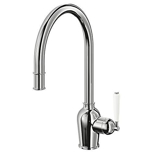 IKEA INSJÖN rubinetto da cucina con bocca estraibile 43 x 29 cm, cromato