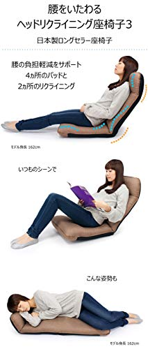 ヤマザキ『腰をいたわるヘッドリクライニング座椅子』