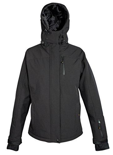 Deproc Active Damen Softshell-Skijacke und Winterjacke für CHICOPEE Jacke, black, 36