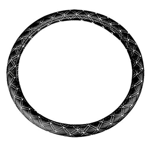LISRUI 15 Inch Dragon Pattern Elastic Steering Wheel Covers, Durable Dish Sets Universal Car Protection Accessories