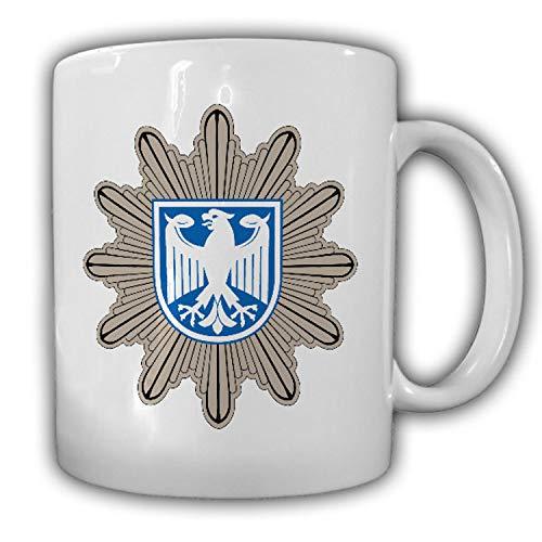 BPOL Abzeichen Bundespolizei Stern Adler Deutschland Beamter Tasse #20125
