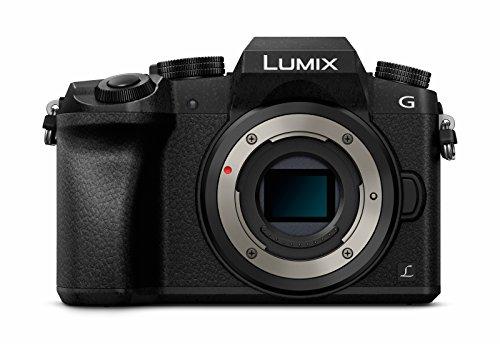 Panasonic LUMIX G DMC-G70EG-K Systemkamera (16 Megapixel, OLED-Sucher, Hybrid Kontrast AF, 7,5 cm OLED Touchscreen, 4K Foto & Video, WiFi) schwarz