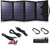 Solar Panel Foldable 120W Solar Panel Charger for Suaoki/Enkeeo/Goal Zero Yeti/Webetop/Paxcess/ROCKPALS Power Station Generator...