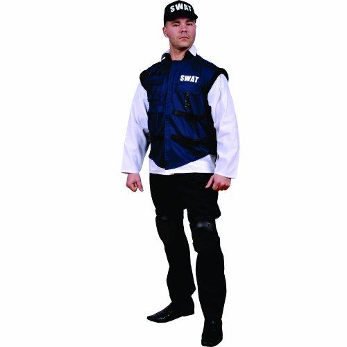 Dress Up America Costume d'équipe de Swat adulte