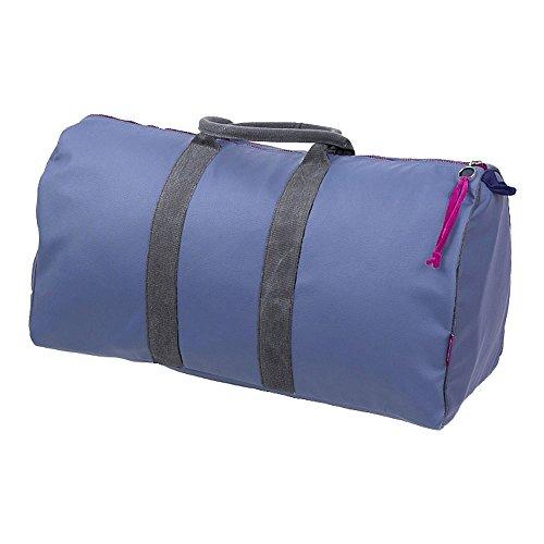 Farbenfreunde Accessories Travelbag, Reisetasche, Reisesack, Weekender, Reisegepäck, Veganes Leder (PU), Gauloise, 27 x 60 cm, 7002228
