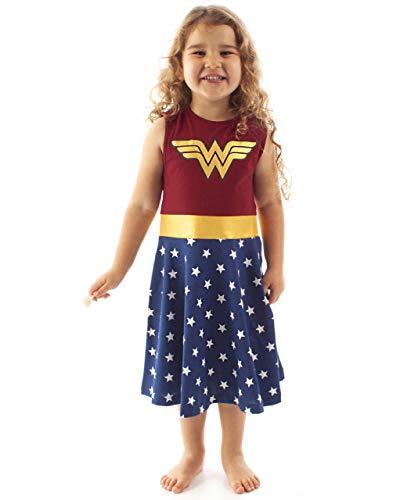 WONDER WOMAN - Costume da Donna Cosplay Multicolore 7-8 Anni
