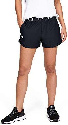 Under Armour Women s Play Up 3 0 Shorts Black 001 White Medium product image