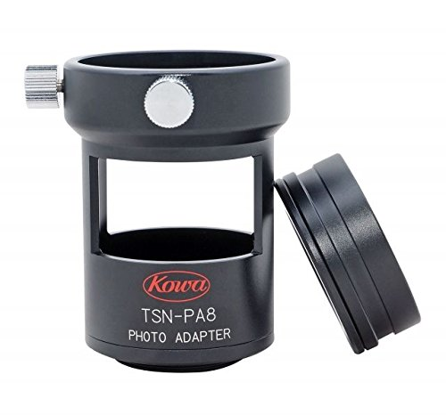 Buy Kowa Photo Adapter for TSN-82SV/660M/600 Scopes and Zoom Eyepieces, Black, Small,