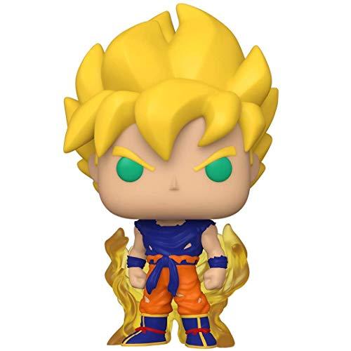 LLZZ Pop Dragonball - Super Saiyan Goku (First Appearance) #860 Vinyl 3.9inch Animation Figure Anime Derivatives,Multicolor