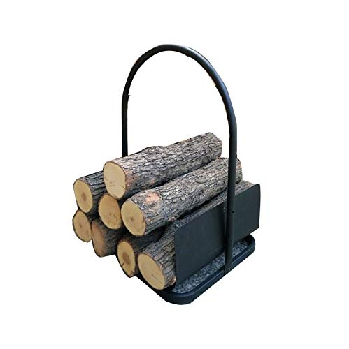 Why Should You Buy Strong and Sturdy Firewood Frame Suitable for Home, European Style Iron Fireplace...