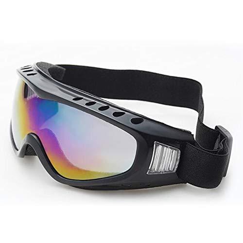 AFANGMQ Deportes al Aire Libre Profesional Nieve Viento Apropieso X400 UV Protección de esquí Ski Skate Skate Skiing Gafas for Hombres Mujeres y jóvenes, Niños, Niños y niñas, (Color : Red)