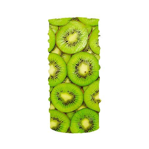 N/X 3D digitaal gedrukt fruit patroon multifunctionele outdoor zonnebrandcrème slabbetje turban ademende paardrijden apparatuur