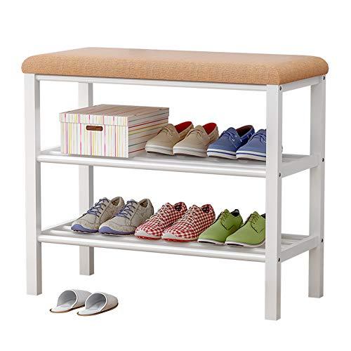 LC-SHBAGS schoenenrek, dubbellaags, eenvoudig huishouden, economisch, ruimtebesparende schoenenkast montage, modern, stofdichte slaapzaal, rek, 60 x 30 x 50 cm