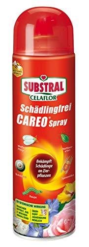 Celaflor Schädlingsfrei Careo Spray, anwendungsfertiges Mittel mit schneller Wirkung gegen Schädlinge an Pflanzen, 400 ml