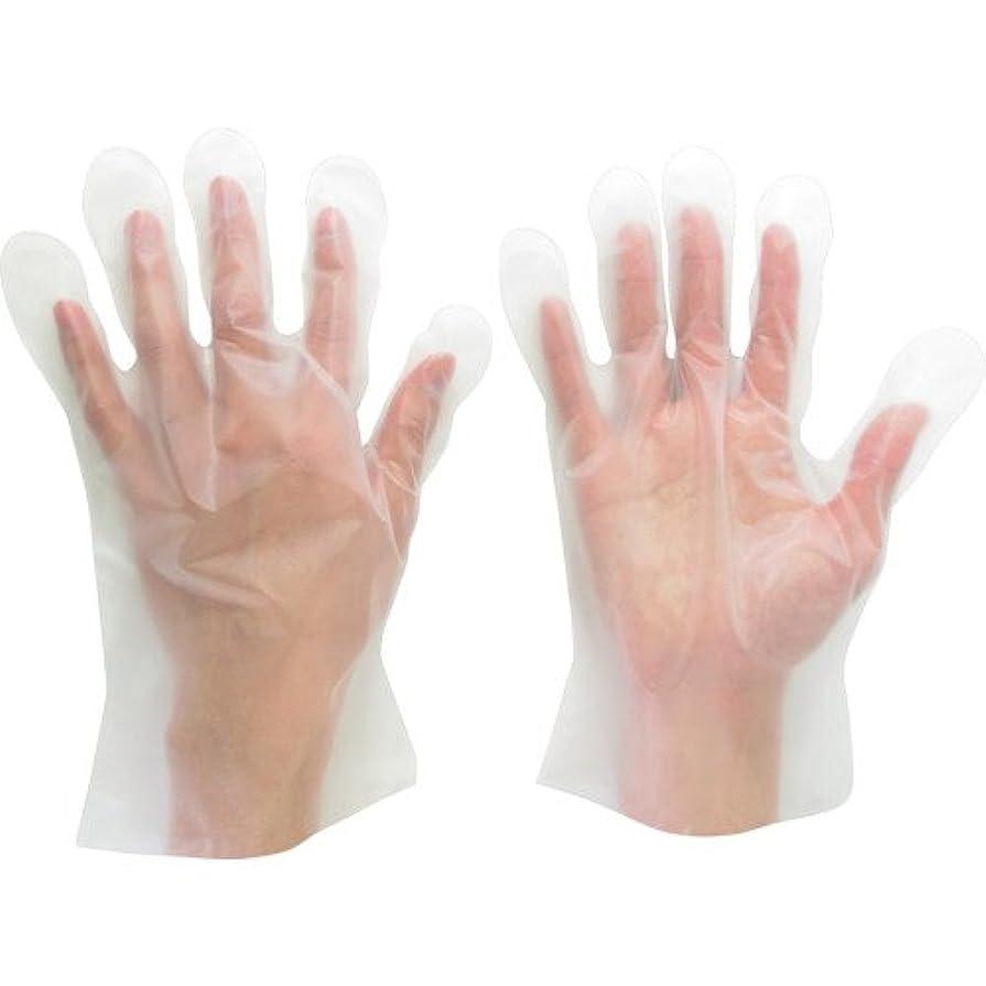 数学的な流体眉ミドリ安全 ポリエチレンディスポ手袋 ベルテ573 100枚 袋入 L VERTE-573-L