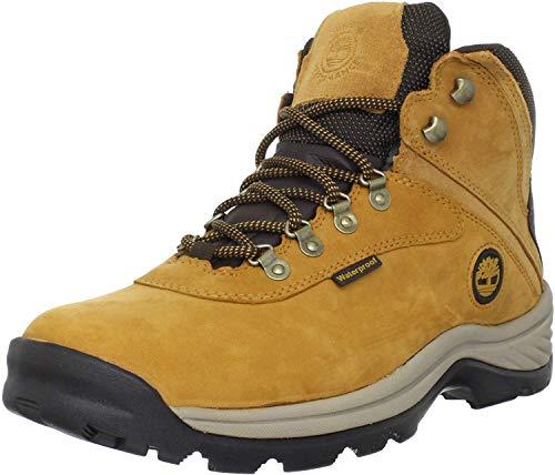 Timberland - - Chaussure à Lacets Blancs mi-Hauts pour Hommes, 50 2E EU, Wheat