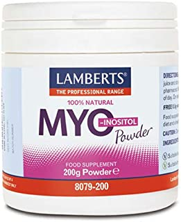 Lamberts Myo Inositol en Polvo - 200 gr