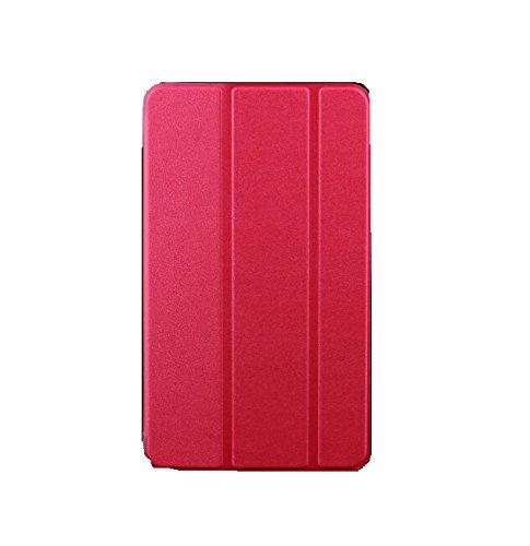 windykids dtab d-01H ケース MediaPad M2 10.0 カバー ローズレッド 3点セット 保護フィルム タッチペン スタンドケース