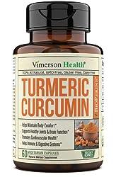 commercial Curcumin Curcumin and BioPerine Black Pepper, 95% curcuminoid. Make up for inflammation … turmeric supplements