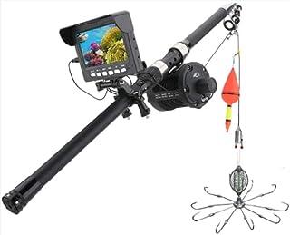 AFSDF Finder bajo al Agua Finder Cámara de Pesca DVR Monitor LED Visión Nocturna 175 Grados Cámara de Rueda de mar para la...