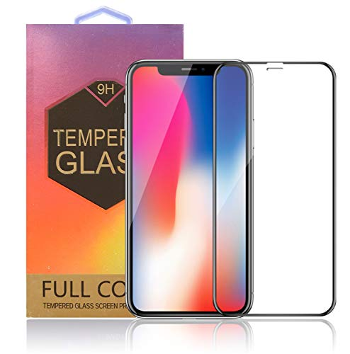 Protector Pantalla iPhone X / XS   Cobertura Total 3D   Inastillable   Libre de burbujas     Anti Ralladuras   Ultra Delgado 0.33 mm   9H Premium   Cristal Templado   3D Touch & Face ID Compatible