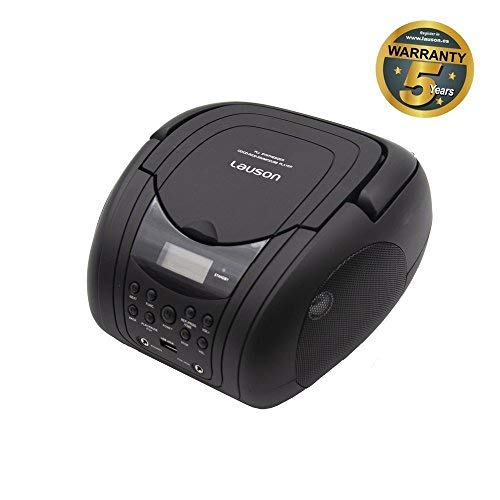 Lauson CP741 CD Player | Digital Boombox with FM Radio and...