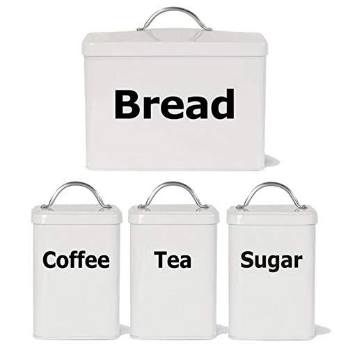 Waofe Küche Etiketten Aufkleber Aufkleber, Tee Kaffee Zucker Brot Jar Bin KanisterDecals Aufkleber Für Die Küche