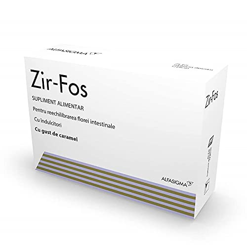 ZIR-FOS al caramello, 12 bustine, Alfasigma