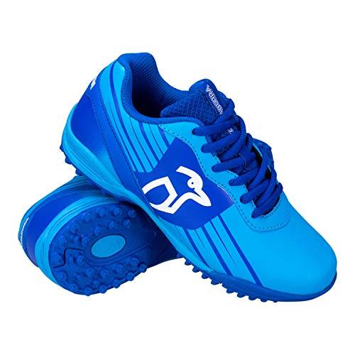 Kookaburra Unisex-Hockeyschuhe, Neonblau, für Jugendliche, Jungen, Hockeyschuhe, blau, 1 UK