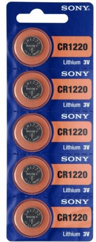 Sony 5x CR1220 - piles non-rechargeables (Lithium, Button/coin, 3V)