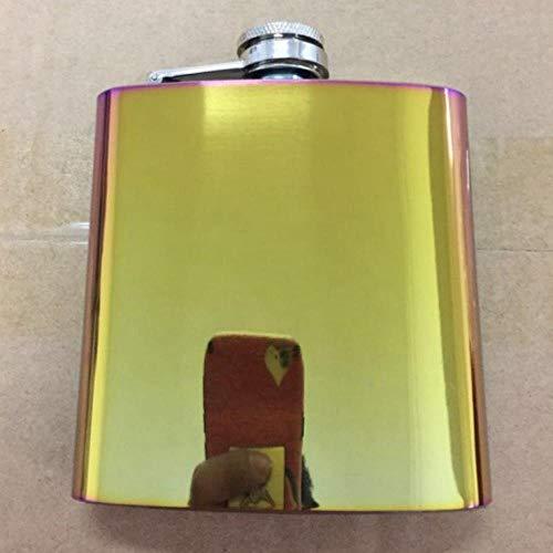 Portachiavi portatile in acciaio inossidabile Pasamer 1 oz Whisky Liquore Bottiglia per bottiglia di vino Portachiavi