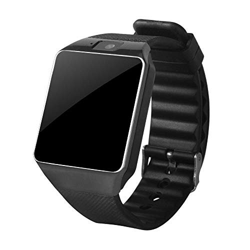 Oyznsb Bluetooth polshorloge voor mannen vrouwen Ticwatch Sport Fitness Tracker voor iOS iPhone Samsung Huawei Xiaomi mobiele telefoon Android, Zwart