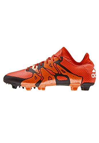 adidas Performance Herren X15.1 FG/AG Fußballschuhe, Rot (Bold Orange/Ftwr White/Solar Orange), 42 EU