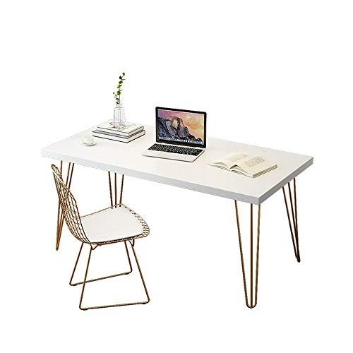 XXD Nordic home bedroom antique wrought iron original solid wood desk office computer desk designer writing desk modern minimalist