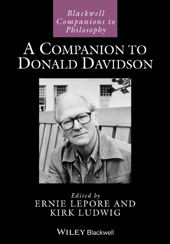 A Companion to Donald Davidson