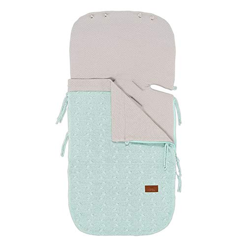 BO Baby's Only - Sommer Fußsack Autositz 0+ Cable - Mint