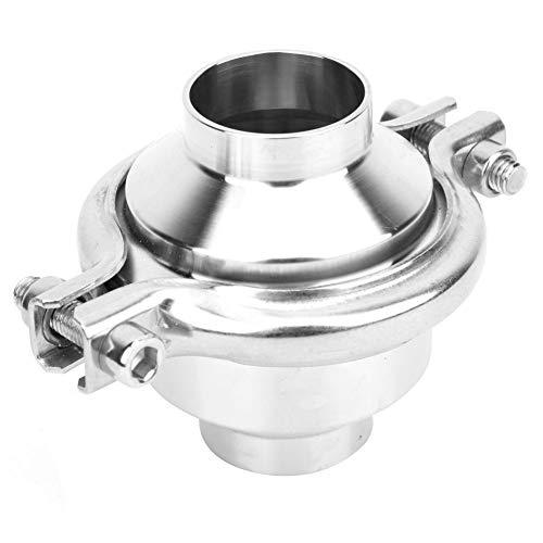 Válvula de retención unidireccional - H81F Válvula de retención de liberación rápida de acero inoxidable Válvula de retención de bomba DDCV sanitaria 1-1/2 pulgadas