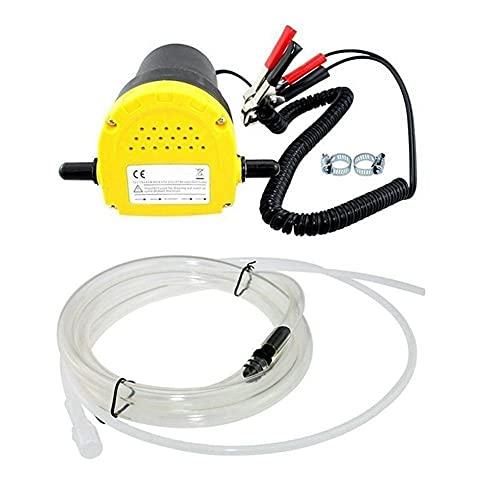 Accesorios para automóviles 12V 60W aceite / petróleo crudo fluido de transferencia de sumidero Extractor Scavenge sustitución de la bomba de succión de la bomba de transferencia + Tubos for el coche