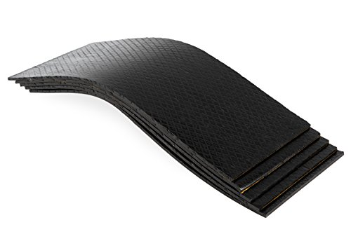 10 Stück Bitumenmatte, Antidröhnmatte, Dämmmatte Selbstklebend 500x200x5,5mm