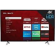 "TCL 49S405 49"" 4K Ultra HD Roku Smart LED TV (2017 Model)"