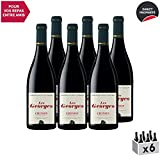 Chinon Les Georges Rouge 2018 - Château du Petit Thouars - Vin AOC Rouge du Val de Loire - Cépage Cabernet Franc - Lot de 6x75cl