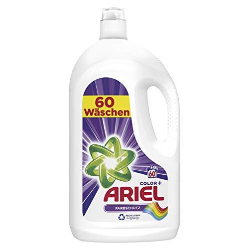 Ariel Color Flüssigwaschmittel Farbschutz, 3er Pack (3 x 60 Waschladungen)