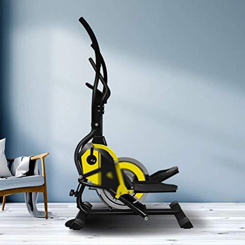 Crosstrainer, Bici da Fitness ellittica di manovra Tre in Uno Multifunzione Space Walker Climbing Machine Home Mini Attrezzature Sportive Indoor