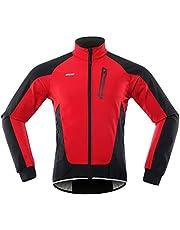 Lixada Mannen Fietsen Jas Waterdicht Winddicht Thermische Fleece Bike Jersey MTB Fiets Rijden Running Herfst Winter Jas Jas