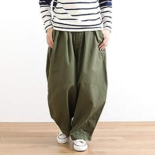 [ハーベスティ] コットン チノクロス サーカスパンツ COTTON CHINO CLOTH CIRCUS PANTS A11709 レディース