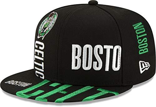 NBA19 TIPOFF Series Adjustable On Court Snapback (Boston Celtics) Black
